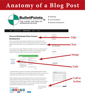 Anatomy of blog